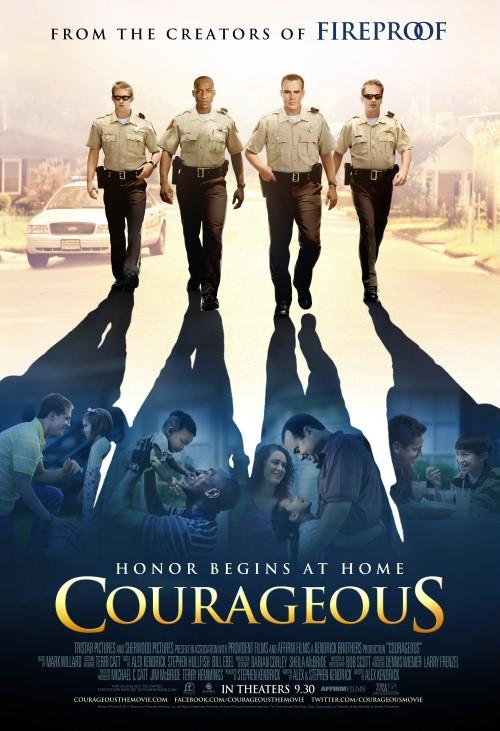 """Film """"""""Odważni"""" w naszym kościele"""