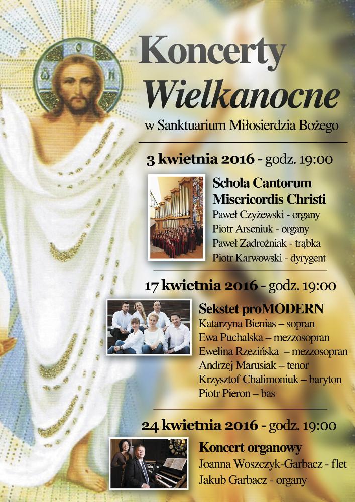 Zapraszamy na kwietniowe Koncerty Wielkanocne
