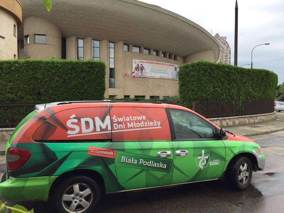 Rejonowa delegacja ŚDM z wizytą w Krakowie