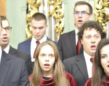 Nasi chórzyści zaśpiewali na Solennej Mszy Świętej w Bazylice Jasnogórskiej