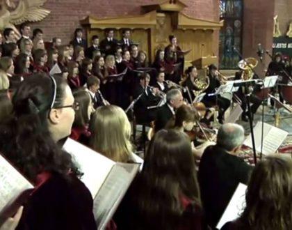 Koncert Papieski w wykonaniu naszego chóru - rok 2011