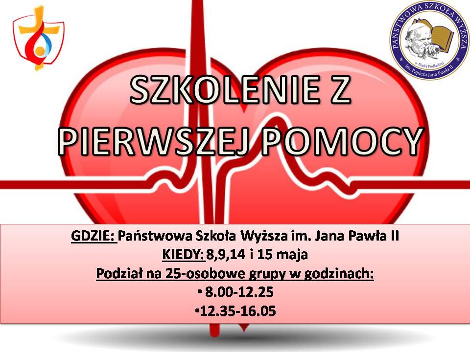 Szkolenie z pierwszej pomocy w PSW